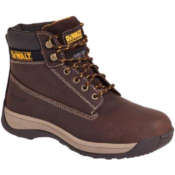 Skor Herr safety shoes Dewalt  Brun