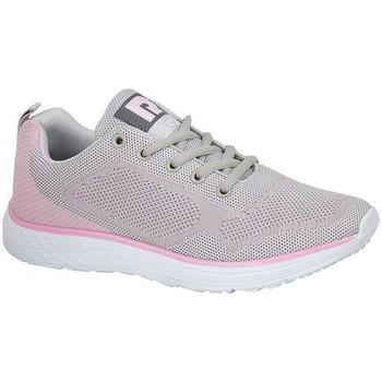 Skor Dam Sneakers Dek  Grå/blekrosa