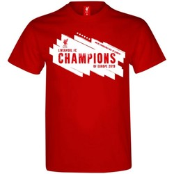 textil Herr T-shirts Liverpool Fc  Röd