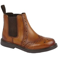 Skor Pojkar Boots Roamers  Tan