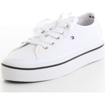 Skor Dam Sneakers Tommy Hilfiger FW0FW04259 White