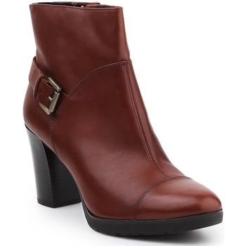 Skor Dam Boots Geox D Raphal MID A D643WA-00043-C0013 brown
