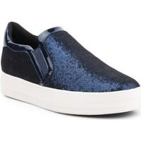 Skor Dam Sneakers Geox D Hidence A D6434A-0EWHH-C4429 navy