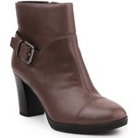 Skor Dam Boots Geox D Raphal Mid A D643WA-00043-C6029 brown