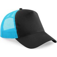 Accessoarer Keps Beechfield Trucker Svart/Surf Blue