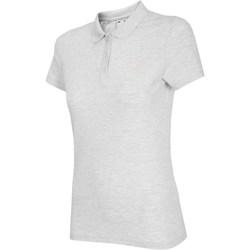 textil Dam T-shirts 4F NOSH4 TSD007 Biały Melanż Vit, Gråa