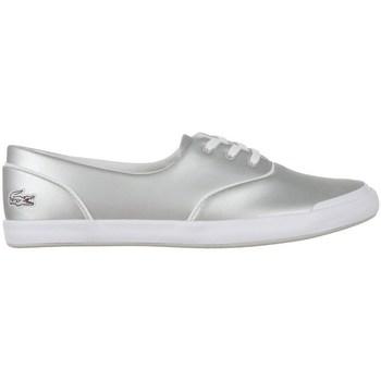 Skor Dam Sneakers Lacoste Lancelle 3 Eye Silver