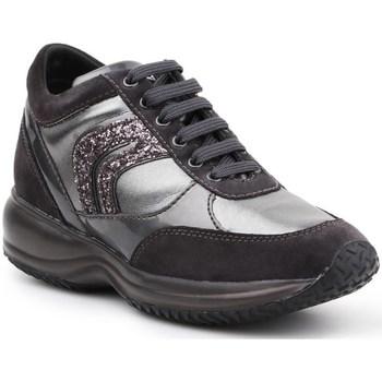 Skor Dam Sneakers Geox D Happy A Svarta