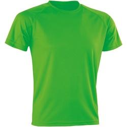 textil T-shirts Spiro Aircool Flo Green