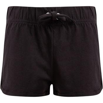 textil Barn Shorts / Bermudas Skinni Fit SM069 Svart/Svart