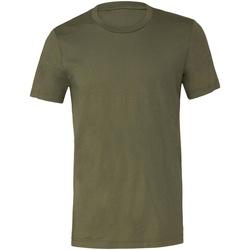 textil T-shirts Bella + Canvas CV001 Militärt grönt