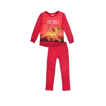 textil Flickor Sportoverall TEAM HEROES JOGGING LION KING Rosa