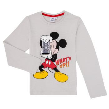 textil Pojkar Långärmade T-shirts TEAM HEROES MICKEY Grå