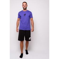 textil Herr T-shirts Lotto halvärmad Jersey T-shirt (ltu012-viola) Violett