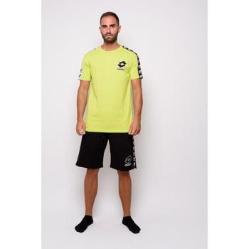 textil Herr T-shirts Lotto halvärmad Jersey T-shirt (ltu016-green) Grön