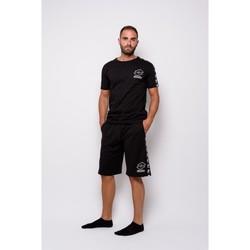 textil Herr T-shirts Lotto Half Sleeve Jersey (ltu016-black) T-shirt Svart