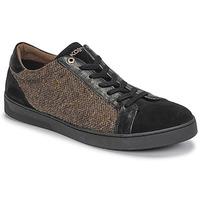 Skor Herr Sneakers Kost CYCLISTE 55 Svart / Brun