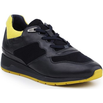 Skor Herr Sneakers Geox D Shahira A D44N1A-085NY-CF43S navy , yellow