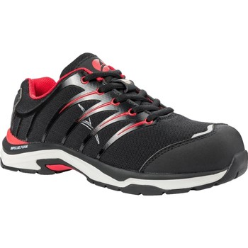Skor Herr Sneakers Albatros  Svart/röd