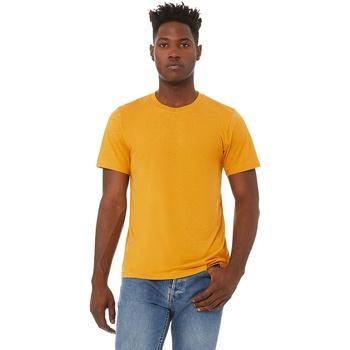 textil Herr T-shirts Bella + Canvas CA3413 Senap Triblend