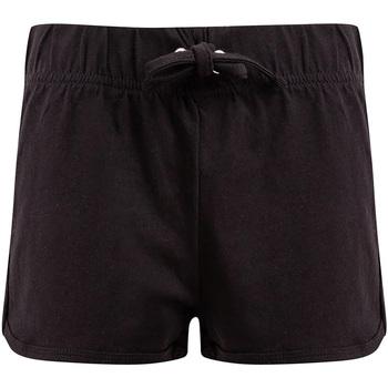 textil Barn Shorts / Bermudas Skinni Fit SM69 Svart/Svart