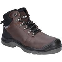Skor Herr safety shoes Amblers  Brun