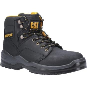 Skor Herr safety shoes Caterpillar  Svart