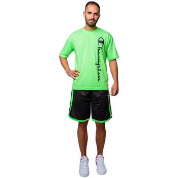 textil Herr Shorts / Bermudas Champion herrarnas Bermuda shorts i mesh (214390-kk001) Svart