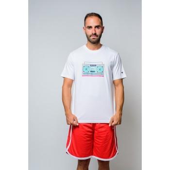 textil Herr T-shirts Champion Crewneck T-shirt (214665-ww001) Vit
