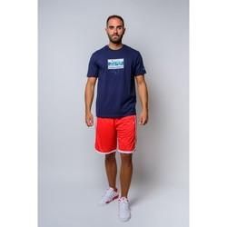 textil Herr T-shirts Champion Crewneck T-shirt (214666-bs503) Blå