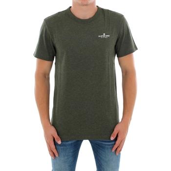 textil Herr T-shirts G-Star Raw RODIS R T SS DK SHAMROCK HTR Verde