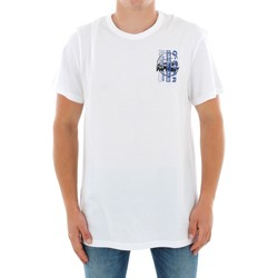 textil Herr T-shirts G-Star Raw ZB GRAPHIC 4 R T SS WHITE Blanco