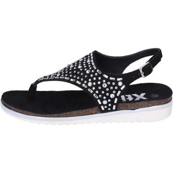 Skor Dam Sandaler Xti sandali camoscio sintetico strass Nero