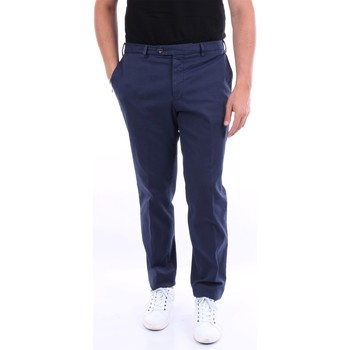 textil Herr Chinos / Carrot jeans Barba Napoli 524B7911 Navy blue