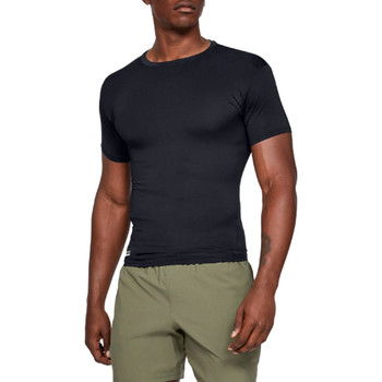 textil Herr T-shirts Under Armour HG Tactical Compression Tee 1216007-001