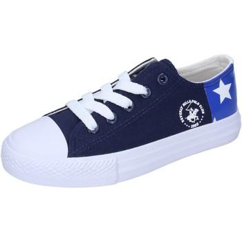 Skor Pojkar Sneakers Beverly Hills Polo Club Sneakers BM931 Blå