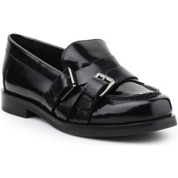 Skor Dam Loafers Geox D Promethea A D64R3A-00038-C9999 black
