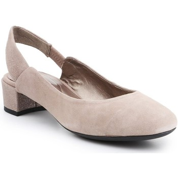 Skor Dam Pumps Geox D Carey Beige