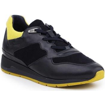 Skor Herr Sneakers Geox D Shahira Svarta,Gula