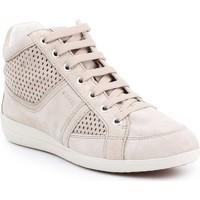 Skor Dam Höga sneakers Geox D Myria B D7268B-07722-C6738 beige