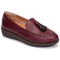 Skor Dam Loafers FitFlop PETRINA PATENT LOAFERS Röd