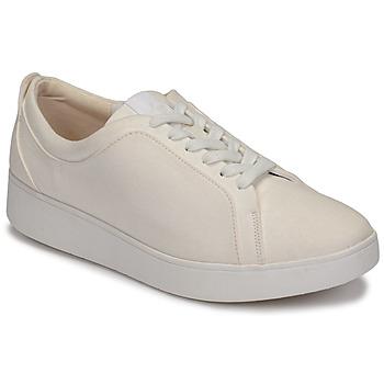 Skor Dam Sneakers FitFlop RALLY DENIM Vit