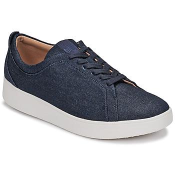 Skor Dam Sneakers FitFlop RALLY DENIM Blå