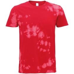 textil T-shirts Colortone TD09M Röd