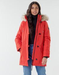 textil Dam Parkas Vero Moda VMEXPEDITION Röd