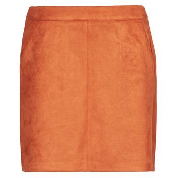 textil Dam Kjolar Vero Moda VMDONNADINA Orange