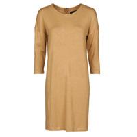 textil Dam Korta klänningar Vero Moda VMGLORY Kamel