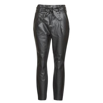 textil Dam Chinos / Carrot jeans Vero Moda VMEVA Svart