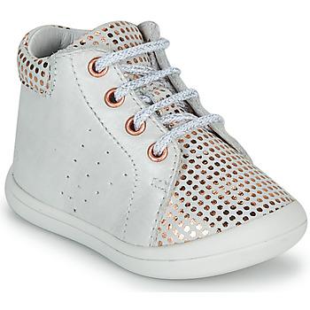 Skor Flickor Höga sneakers GBB NAHIA Vit