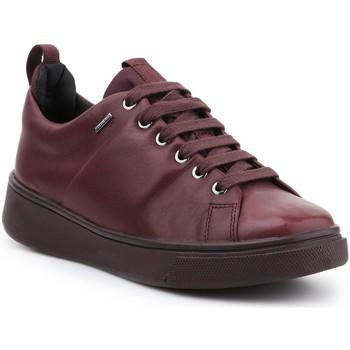 Skor Dam Sneakers Geox D Mayrah B ABX C D643MC-00085-C7357 burgundy